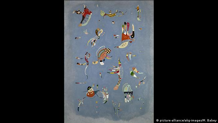Kandinsky Himmelblau (picture-alliance/akg-images/M. Babey)