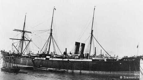 Siemens cable ship Faraday (Siemens AG)