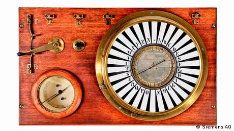 Pointer telegraph (replica), 1847 (Siemens AG)
