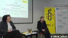 28.11.2016 Russische Menchenrechtlerin Swetlana Gannuschkina bei Amnesty International mit Daniela Schadt