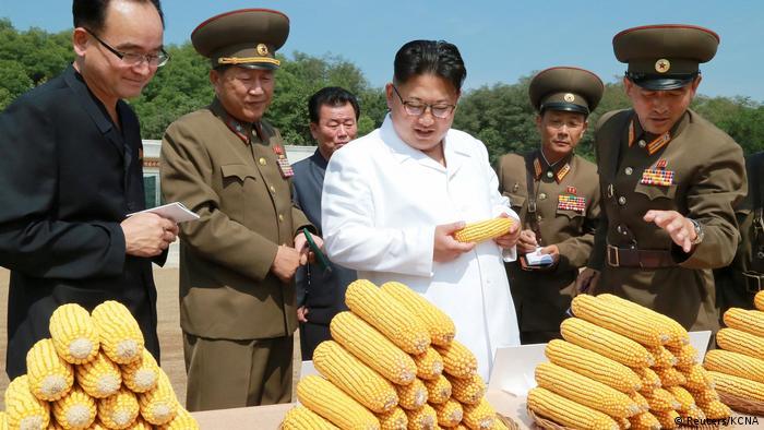 Nordkorea Besuch Kim Jong-Un Produktionstätte Lebensmittel