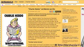 Capa da primeira edição alemã do Charlie Hebdo