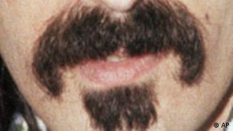 BdT Frank ZappasAusschnitt auf seinen Bart
