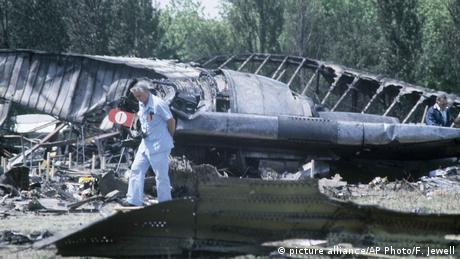 Flugzeugabsturze - American Airlines Flight 191 1979 (picture alliance/AP Photo/F. Jewell)