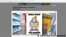 Charlie Hebdo Cover Deutschland
