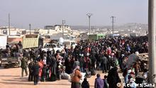 Aleppo Syrien Flüchtlinge