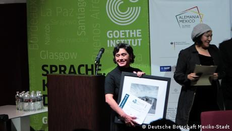 La periodista mexicana Gloria Leticia Díaz Benítez.