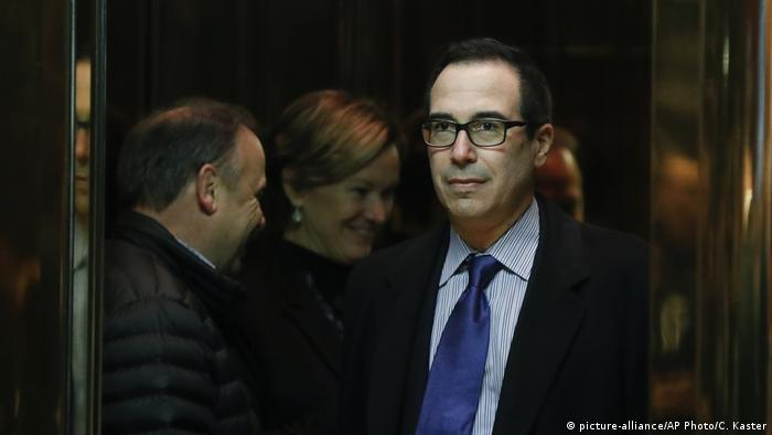 USA Steven Mnuchin (picture-alliance/AP Photo/C. Kaster)