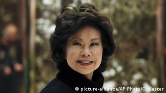 Ulaştırma Bakanı Elaine Chao