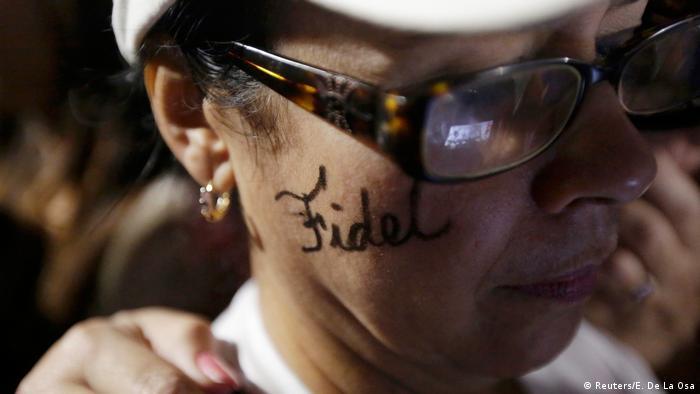 Kuba Trauer um Fidel Castro (Reuters/E. De La Osa)