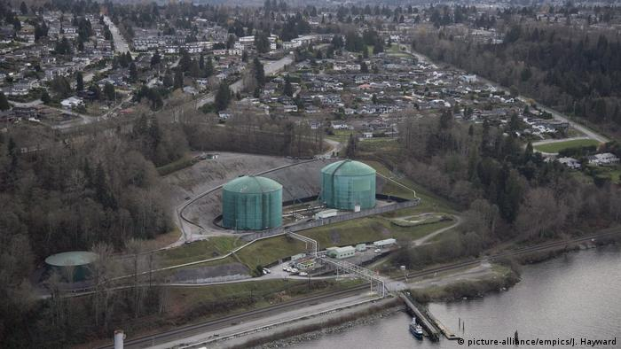 Kanada Kinder Morgan Trans Mountain Expansion Project (picture-alliance/empics/J. Hayward)
