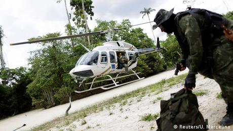 Brazil fights illegal logging(Reuters/U. Marcelino)