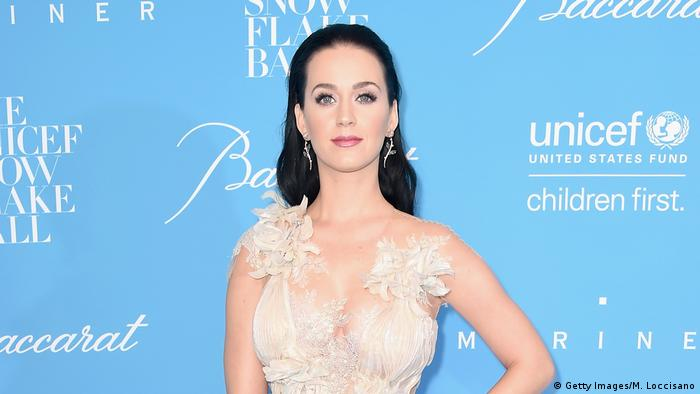 USA Unicef-Gala in New York Katy Perry (Getty Images/M. Loccisano)