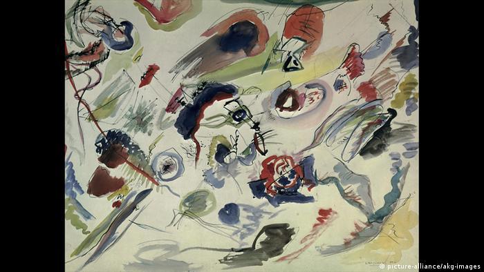 Wassily Kandinsky, Erstes abstraktes Aquarell (picture-alliance/akg-images)