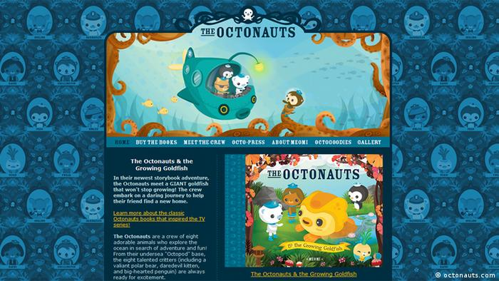 Screenshot The Octonauts (octonauts.com)
