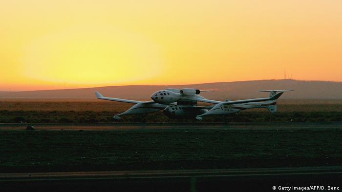 SpaceShipOne, built for the XPRIZE