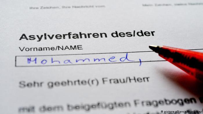 Deutschland Asylantrag