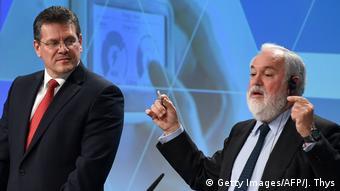 За енергетику в Єврокомісії відповідають Марош Шефчович і Аріас Каньєте