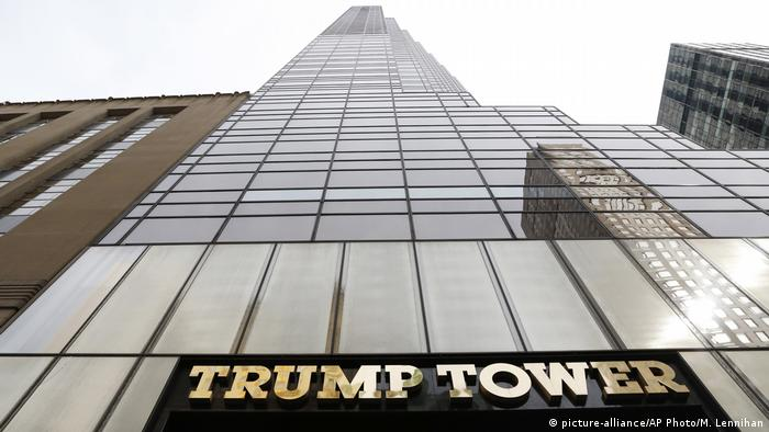 Trump Tower in New York (picture-alliance/AP Photo/M. Lennihan)