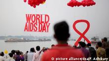 Welt-Aids-Tag 2016 (picture alliance/dpa/P. Adhikary)