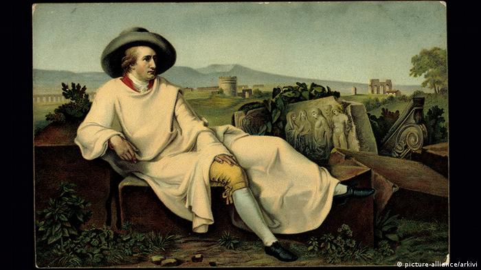 Painting of Goethe in Italy (picture-alliance/arkivi)