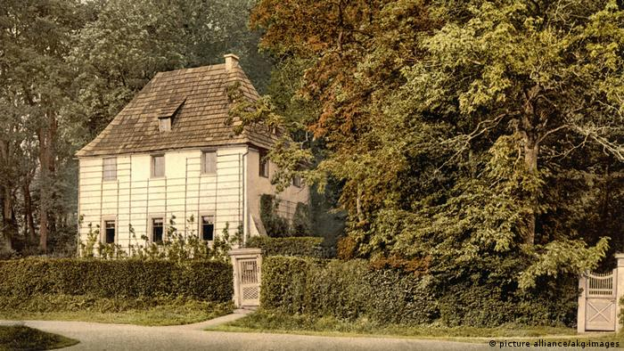 Goethe's garden house in Weimar (picture alliance/akg-images)
