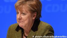 Regionalkonferenz in Münster Merkel (picture alliance/dpa/Revierfoto)