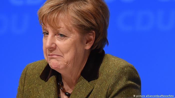 Regionalkonferenz in Münster Merkel