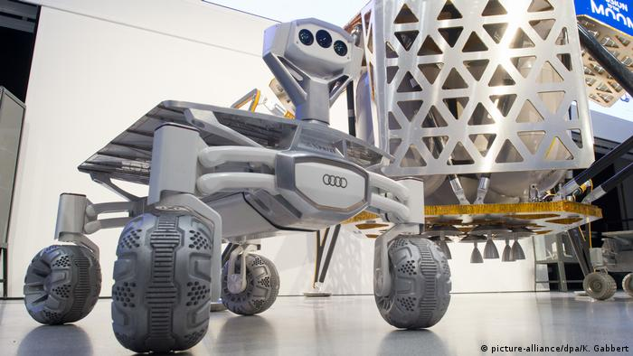 Germany's PTScientists aim to send 'Audi Lunar Quattro' to the moon in 2017
