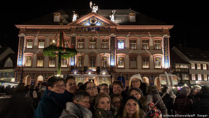 Рождественский календарь в Генгенбахе