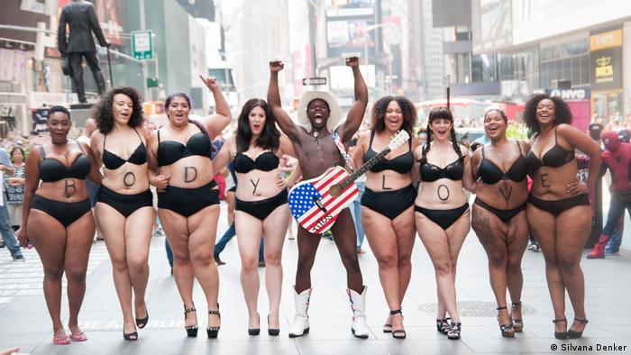 Weiblichkeit und Schönheitsideal BodyLove-Kampagne