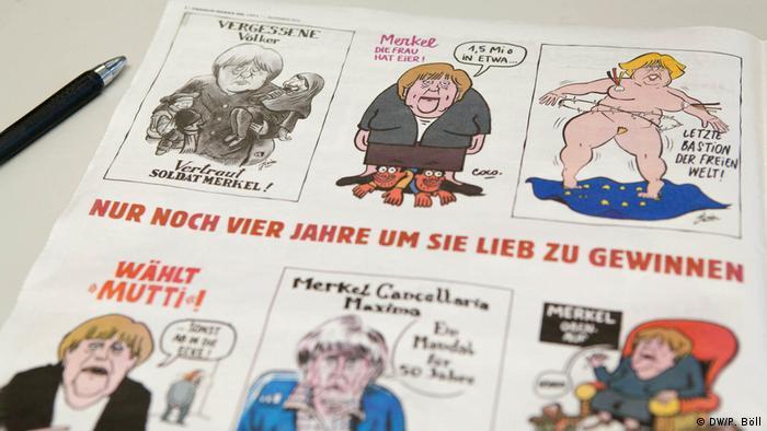 First German edition of Charlie Hebdo