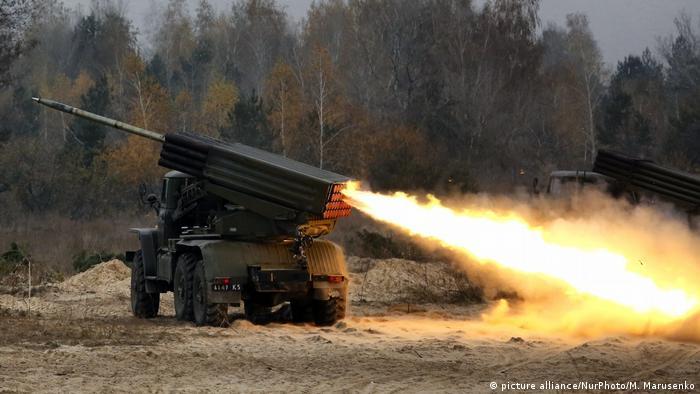 Symbolbild Ukraine Raketentests
