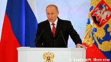Russland Putin Rede an die Nation