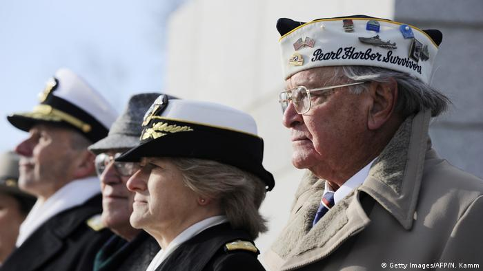 USA Pearl Harbor Veteranen (Getty Images/AFP/N. Kamm)