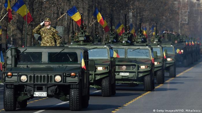 Rumänien Nationalfeiertag Parade