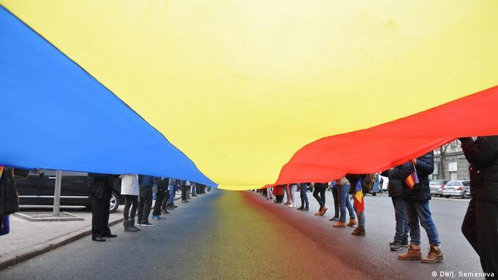 Demonstrație la Chișinău de 1 decembrie (2016 - DW/J. Semenova)