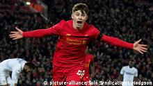 FC Liverpool vs Leeds United Ben Woodburn