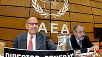 Mohamed El Baradei Director General of the International Atomic Energy Agency