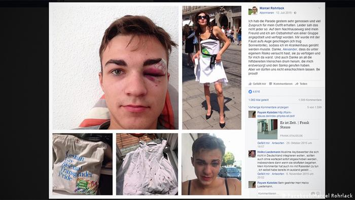 Gay bashing incidents