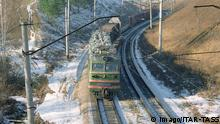 Russland Güterzüge