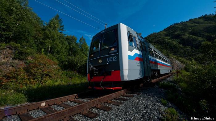 Russland Güterzüge (Imago/Xinhua)