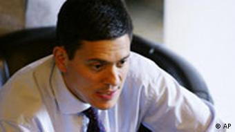 Labour Parteitag in Manchester David Miliband