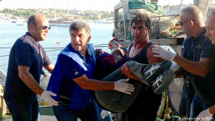 في الرابع من كانون الأول/ديسمبر 2014 عثر خفر السواحل الايطالي على 16 جثة تعود لمهاجرين كانوا على متن زورق صغير المهاجرين على بعد 75 كيلومترا من ليبيا وعلى بعد 185 كيلومترا عن جزيرة لامبيدوزا الإيطالية.