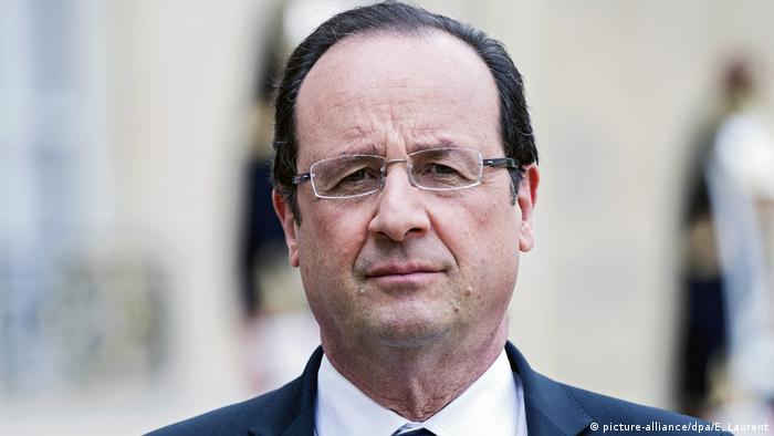 Frankreich Francois Hollande (picture-alliance/dpa/E. Laurent)