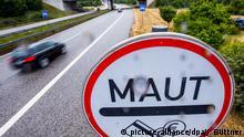 Symbolbild Pkw-Maut in Deutschland