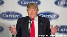 USA Trump zu Besuch im Carrier Werk in Indianapolis