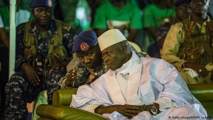 Gambia Wahlen Yahya Jammeh (Getty Image/AFP/M. Longar)
