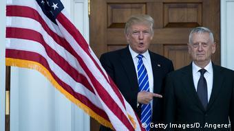 USA Donald Trump bestimmt James Mattis zum US-Verteidigungsminister