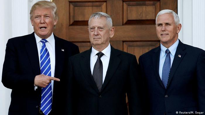 USA Donald Trump bestimmt James Mattis zum US-Verteidigungsminister (Reuters/M. Segar)